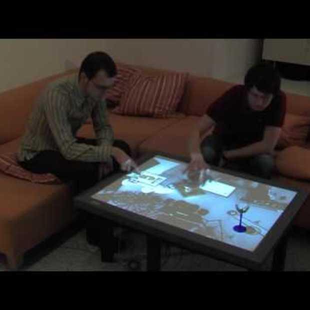 Touch Tafel om je Huis te Bedienen