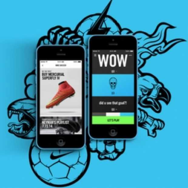 Daag je vrienden uit voor een wedstrijdje via de nieuwste Nike Football app