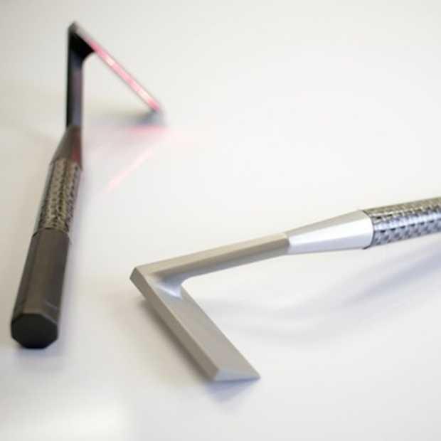 Skarp: super glad scheren met een laser