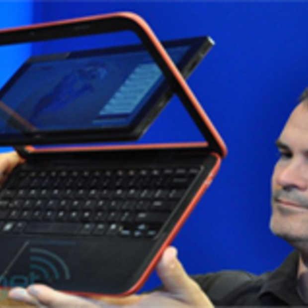 Dell Inspirion Duo Tablet met een draaiend beeldscherm