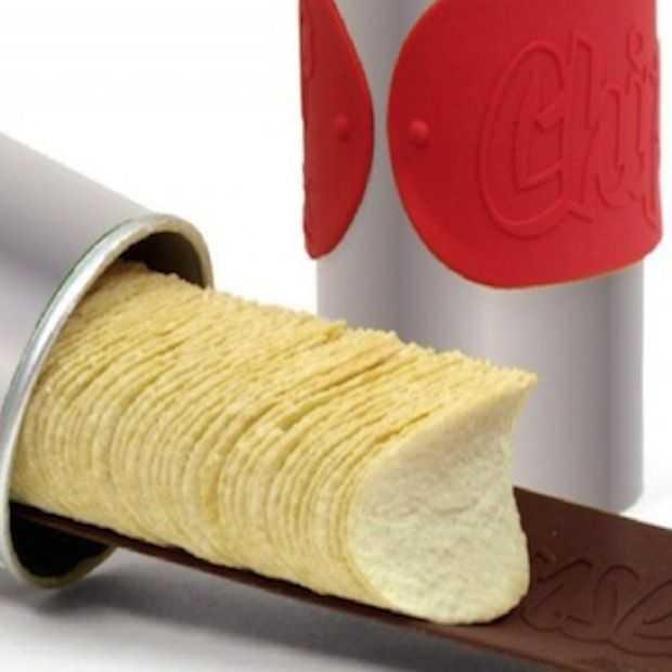 Vastzitten met je hand in een Pringles verpakking is verledentijd