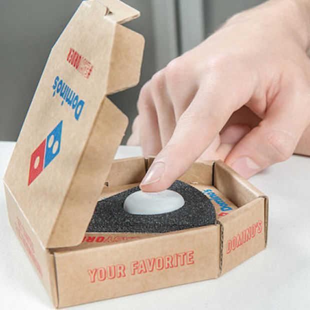 Bestel met één druk op de knop een pizza!