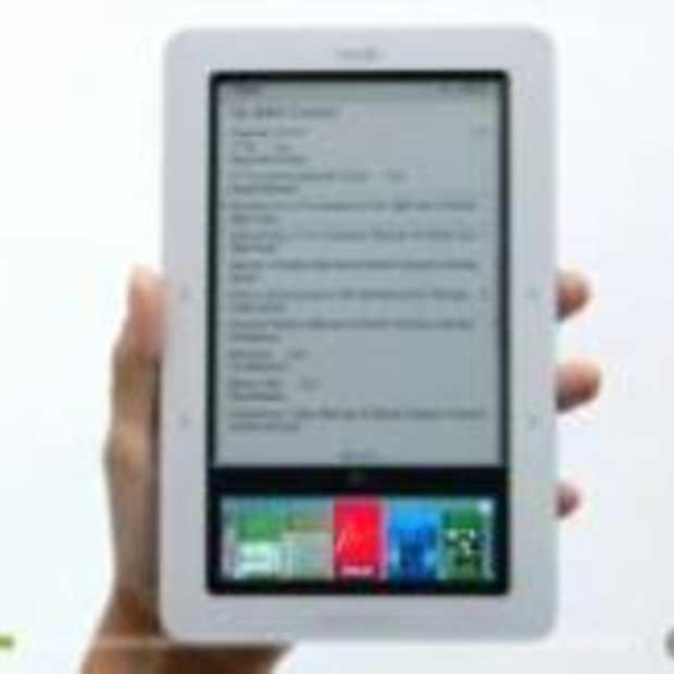E-reader met 2 schermen