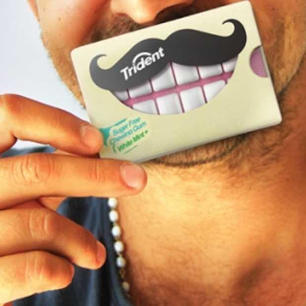 Een stralende lach dankzij deze Trident Xtra care kauwgumpjes!