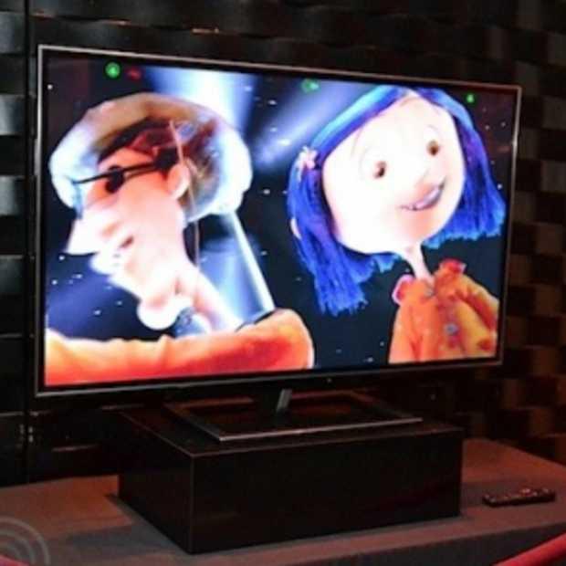 Eerste 3D televisies zonder bril
