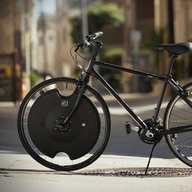 Electron Wheel: een elektrische fiets in 30 seconden