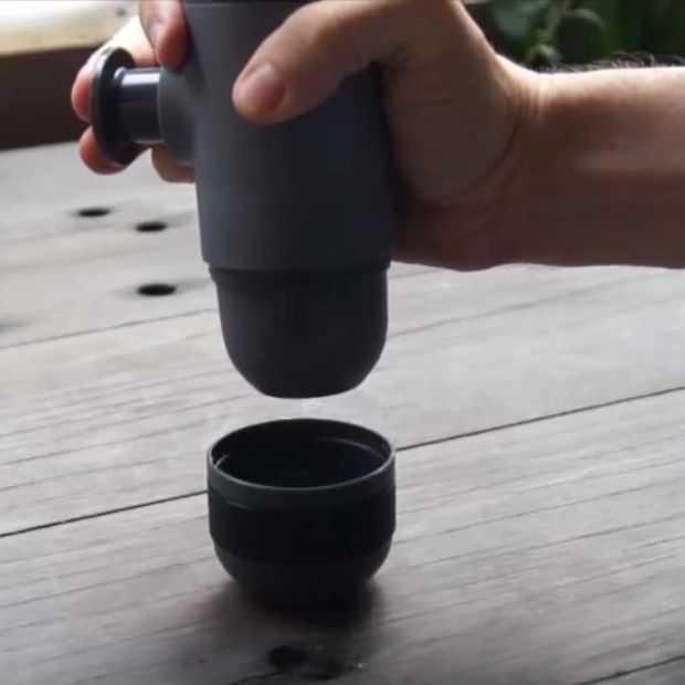 Overal espresso drinken met de Minipresso!