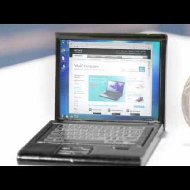 Exclusive! First Look at New Ultrabook: The Sony VAIO® Q Ser