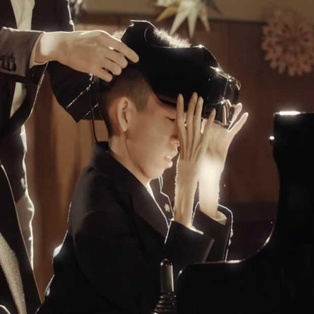 Deze piano bespeel je met je ogen