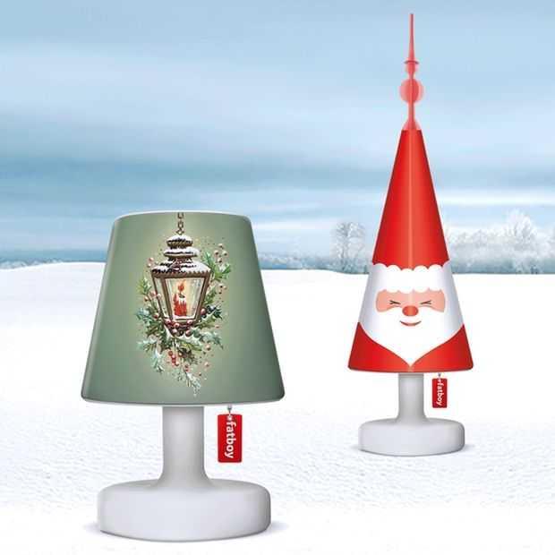 Fatboy's Christmas Cappies: een mini-kerstboom op je lampje