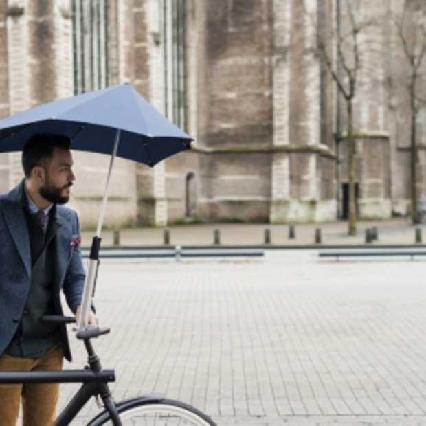 Fietsparaplu: stijlvol fietsen met een dak boven je hoofd!