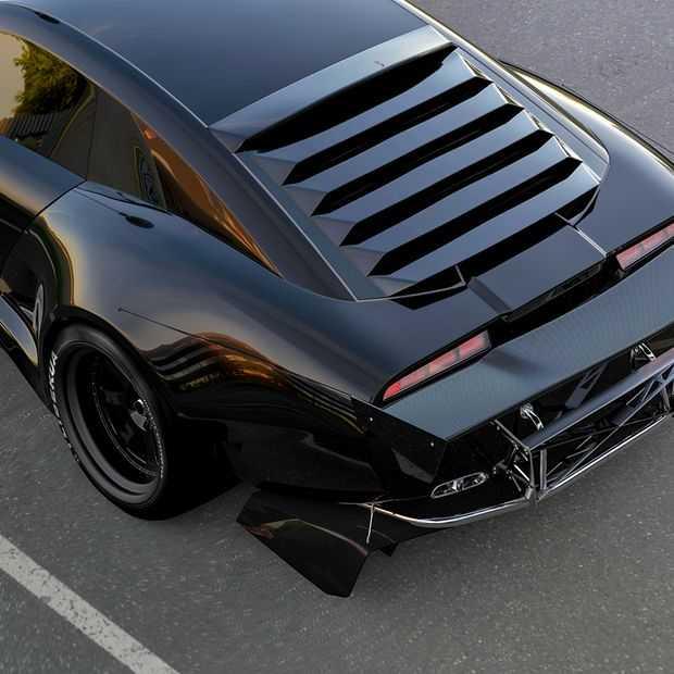 Pontiac Firebird redesign is vernieuwend klassiek scheurijzer