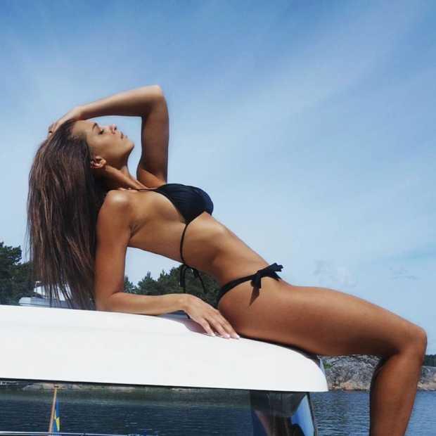 Begin je weekend lekker met Zweeds model Josefine Forsberg
