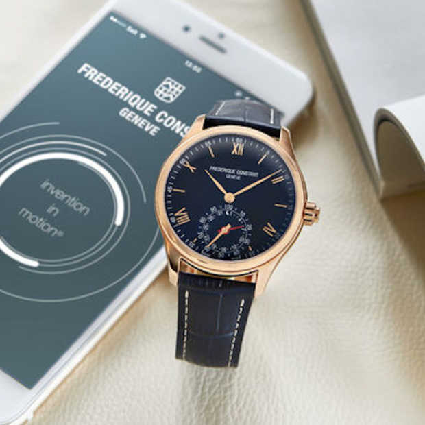 Stijlvol: Horological Smartwatch van Frédérique Constant