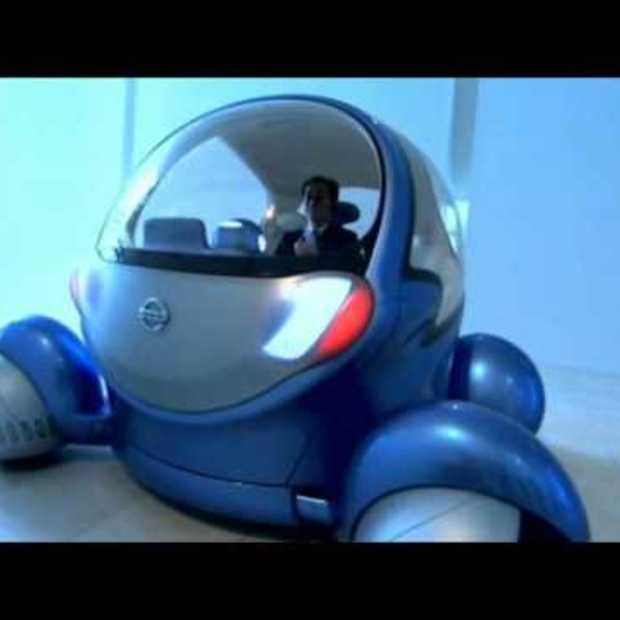 Future Car Nissan Pivo With Inbuilt Robot HD