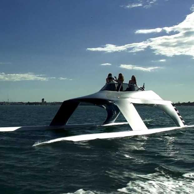 Futuristisch luxe jacht: Glider Yachts Super Sports 18