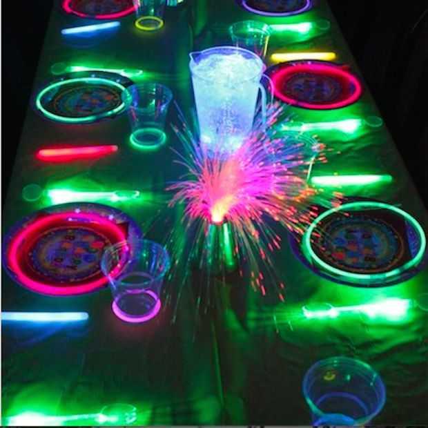Drie te gekke dingen die je kan doen met glow in the dark verf