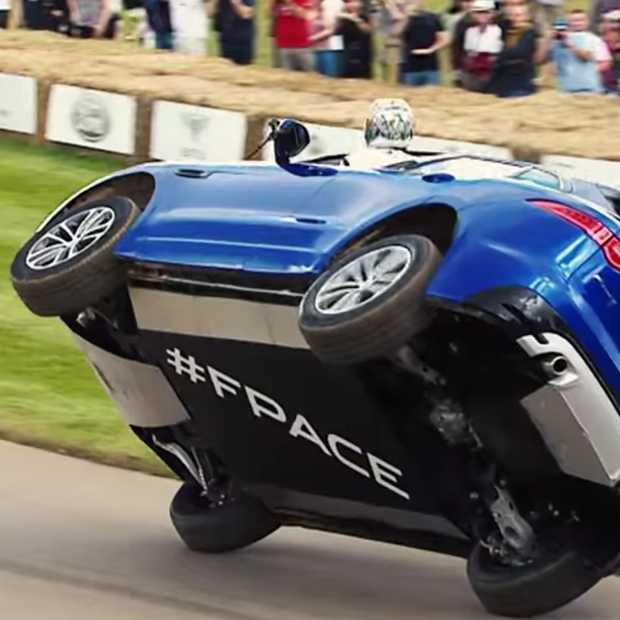 Spectaculair debuut Jaguar F-PACE bij Goodwood Festival of Speed