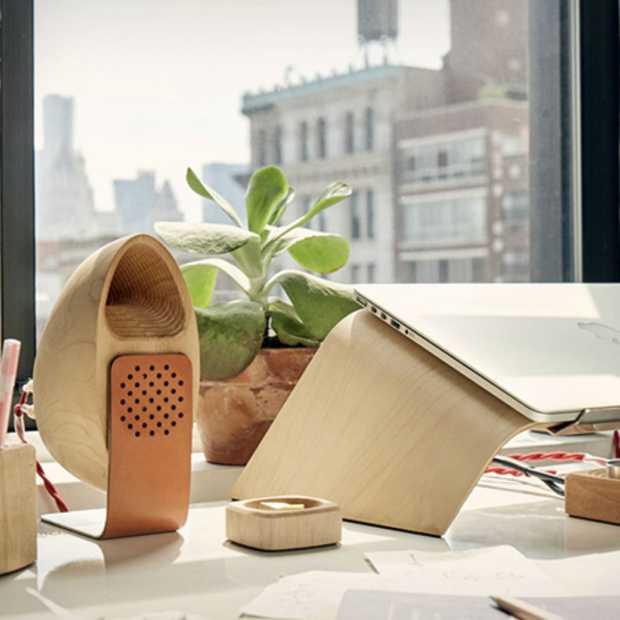 Eyecatcher voor in huis: Grovemade Speaker System