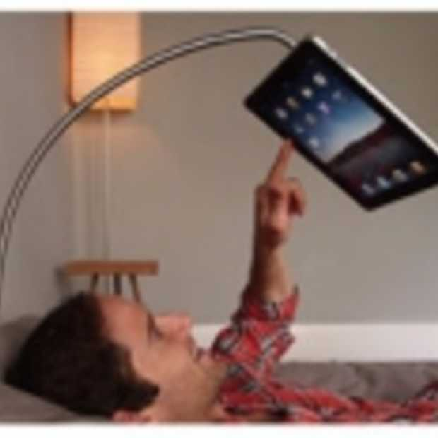 Han(ds)free iPad standaard