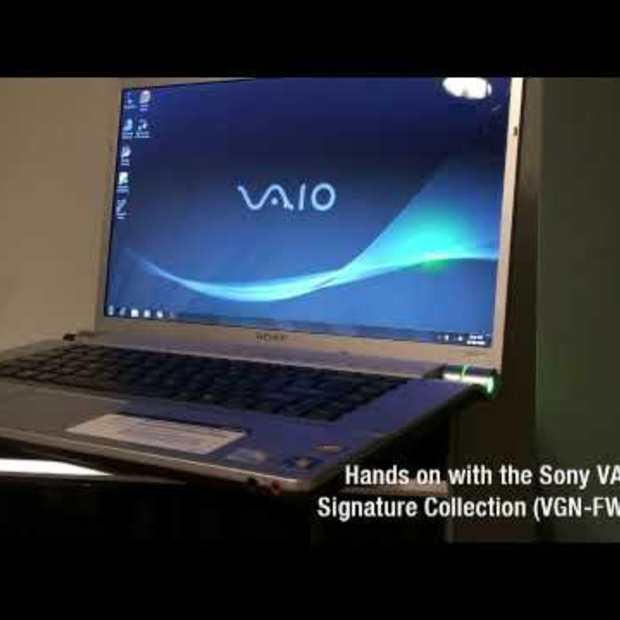Hands-on Sony VAIO FW Signature