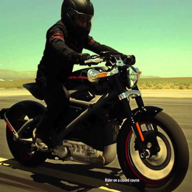 Harley-Davidson presenteert de eerste elektrische motorfiets van het merk