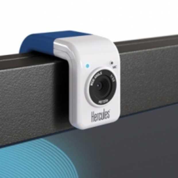 Hercules HD Twist Webcam met een kleurtje