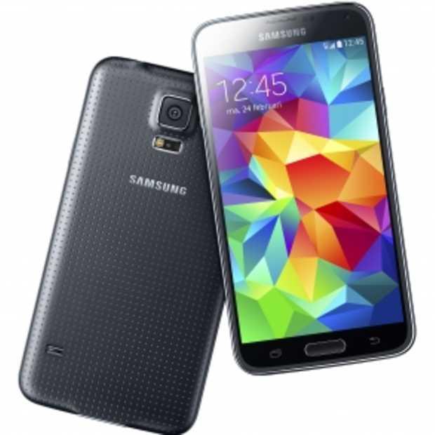 Het nieuwste toestel van Samsung, de S5