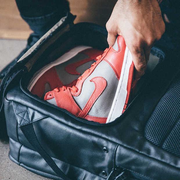 HEX Sneaker Backpak: een rugzak speciaal voor je sneakers