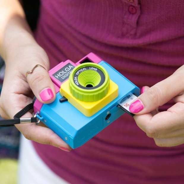 Instagram-foto's maken met de speelgoedcamera van Holga