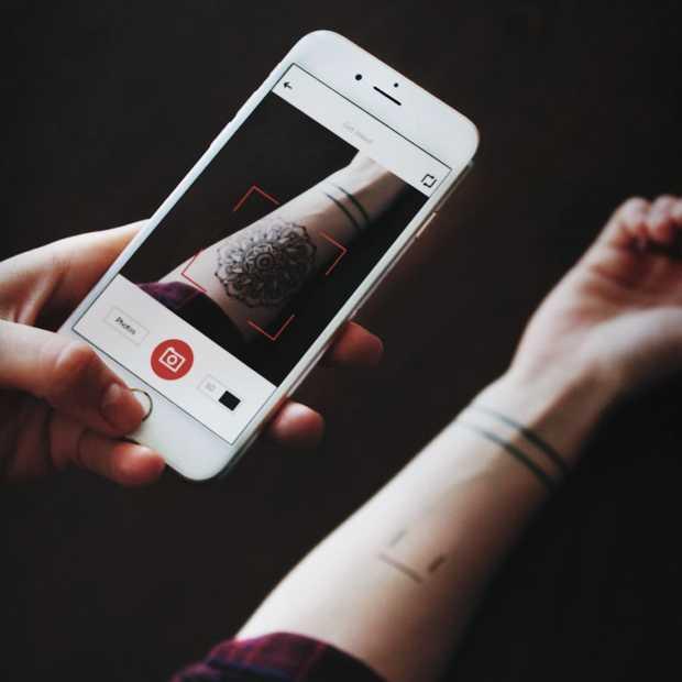 Bekijk je tattoo voordat je hem laat zetten met de InkHunter app