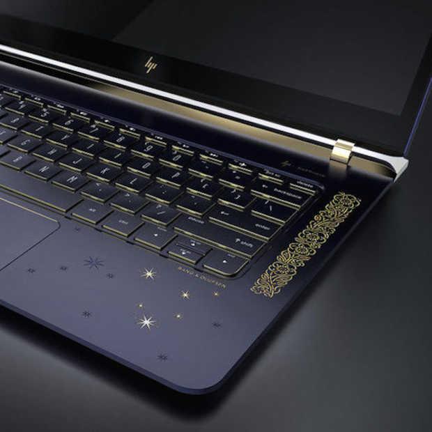 Super exclusieve notebooks van HP met 18K goud