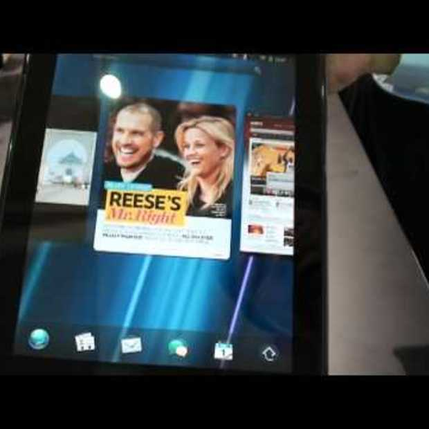 HP Touchpad demoed at COMPUTEX