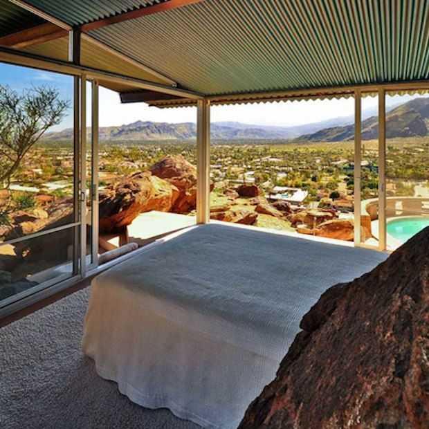 Terug in de tijd met dit prachtige huis in Palm Springs