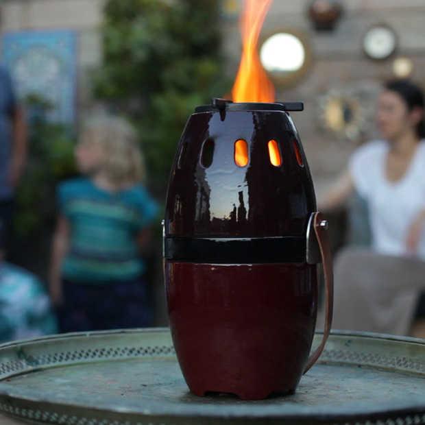 Must have: deze compacte houtpellet brander staat nu op kickstarter