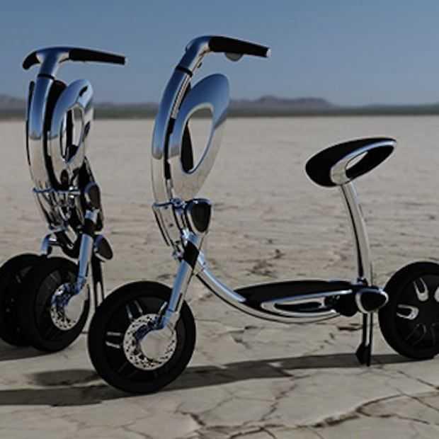 Wordt dit de scooter van de toekomst?