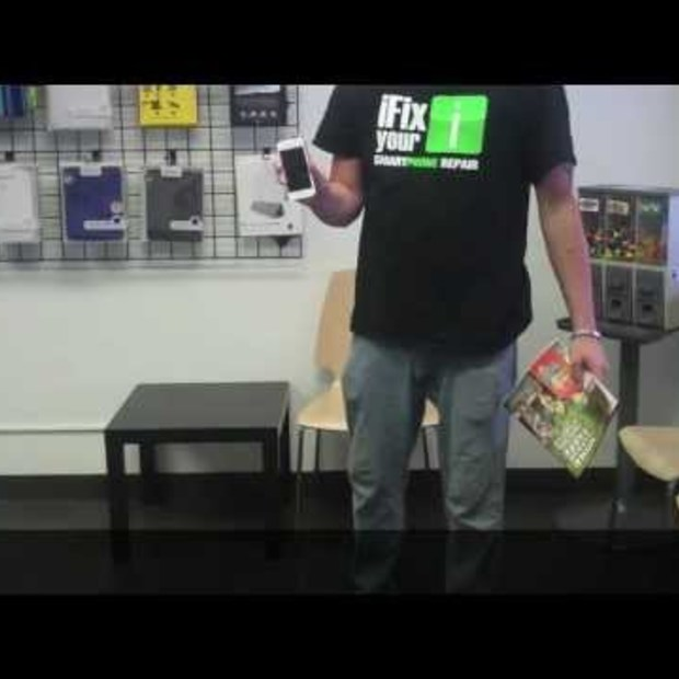 iPhone 5 Drop Test and Durability Video
