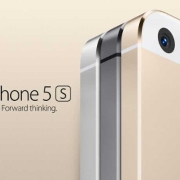 iPhone 5S in zilver, goud en grijs