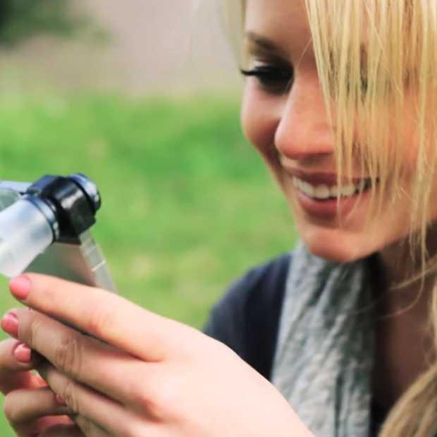 21x inzoomen met de Olloclip Macro Pro Lens voor je iPhone
