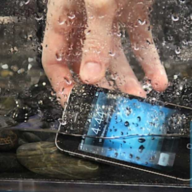 iPhone te Water met HZO