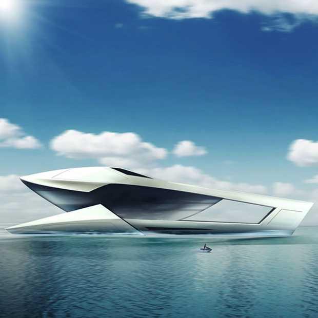 Super de luxe Nederlands super jacht: CF8 Future Concept