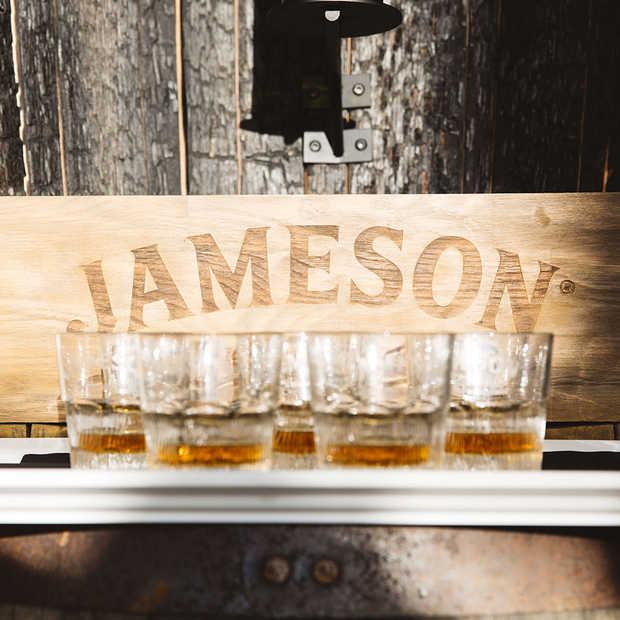 Jameson Caskmates Stout Edition; nagerijpt in biervaten