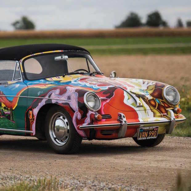 Bijzondere auto: Psychedelic Porsche 356