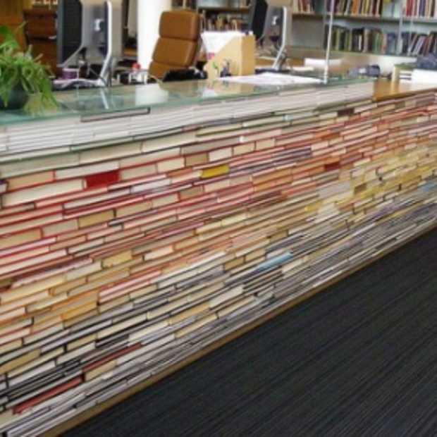 Je oude boeken als bureau