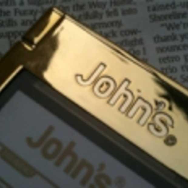 John's Golden Phone ook naar Nederland