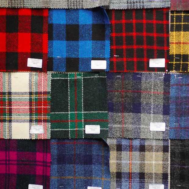 Johnnie Walker lanceert 's werelds eerste tweedstof met whisky-aroma