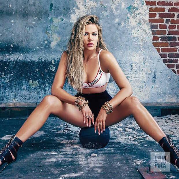 Khloe Kardashian ziet er heel goed uit op de cover van Complex