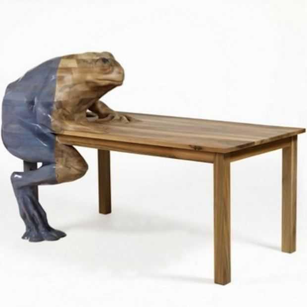 Maak kennis met deze kikkertafel!