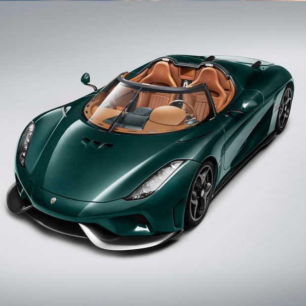 Koenigsegg showt de eerste twee productiemodellen van de Regera in Genève