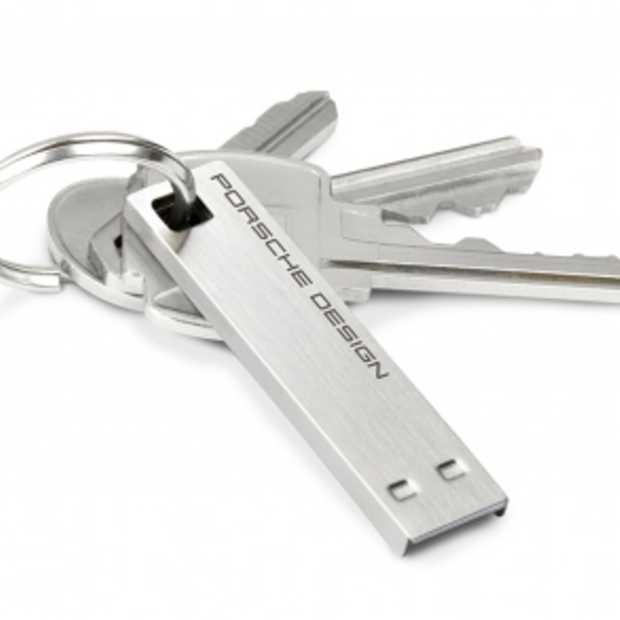 LaCie en Porsche introduceren USB 3.0-stick